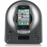 iHome iA63 Desktop Clock Radio - Stereo - Apple Dock Interface - Proprietary Interface IA63BZX