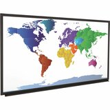 "Da-Lite IDEA Screen Fixed Frame Projection Screen - 87"" - 16:10 - Wall Mount 71839"