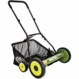 Sun Joe Mow Joe 20-IN Manual Reel Mower with Grass Catcher - MJ502M
