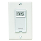 Honeywell RPLS730B1000/U 7-Day Programmable Light Switch Timer (White) - RPLS730B1000U