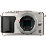 Olympus PEN E-PL5 16.1 Megapixel Mirrorless Camera Body Only - Silver