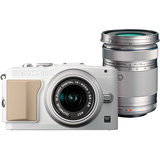 Olympus PEN E-PL5 16.1 Megapixel Mirrorless Camera (Body with Lens Kit) - 14 mm - 42 mm - White V205041WU000