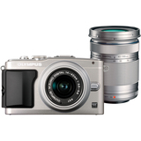 Olympus PEN E-PL5 16.1 Megapixel Mirrorless Camera (Body with Lens Kit) - 14 mm - 42 mm - Silver V205041SU000