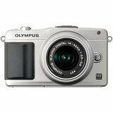 Olympus PEN E-PM2 16.1 Megapixel Mirrorless Camera (Body with Lens Kit) - 14 mm - 42 mm - Silver V206021SU000
