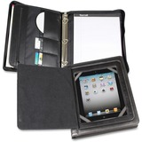 "Samsill Carrying Case (Flap) for 10.1"" iPad, Tablet PC - Black"
