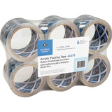 Business Source Heavy-Duty Clear Acrylic Packaging Tape