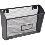 LLR84144 - Lorell Black Mesh/Wire Wall Pocket