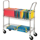 LLR84857 - Lorell Wire Mail Cart