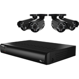 VANTAGE 4 Channel Security Surveillance System with Indoor and Outdoor Cameras LH014511C4F