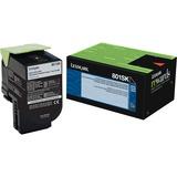 Lexmark 801SK Black Standard Yield Return Program Toner Cartridge