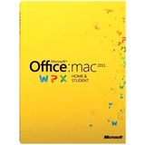 Microsoft Office: Mac 2011 Home and Student - License - 1 Install - GZA00267