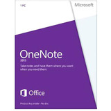 Microsoft OneNote 2013 32/64-bit - License - 1 PC S26-05028