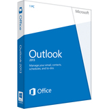 Microsoft Outlook 2013 32/64-bit - License - 1 PC - 54305747
