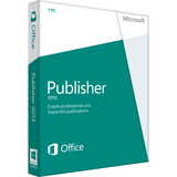 Microsoft Publisher 2013 32/64-bit - License - 1 PC - 16406987
