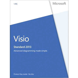 Microsoft Visio 2013 Standard 32/64-bit - License - 1 PC - D8604736