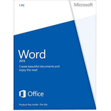 Microsoft Word 2013 32/64-bit - License - 1 PC - 05908267