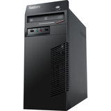 Discount Electronics On Sale Lenovo ThinkCentre M72e 0958B1U Desktop Computer - Intel Core i3 i3-3220 3.3GHz - Tower - Business Black