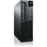 Lenovo ThinkCentre M82 3306G1U Desktop Computer - Intel Core i3 i3-3220 3.3GHz - Small Form Factor - Business Black 3306G1U