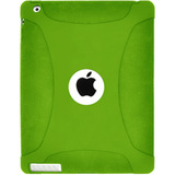 Amzer Silicone Skin Jelly Case - Green For The new iPad