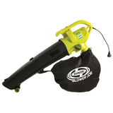 Sun Joe Blower Joe 3-IN-1 Electric Blower, Vacuum & Leaf Shredder SBJ604E