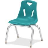 Jonti-Craft Berries Plastic Chairs w/Chrome-Plated Legs