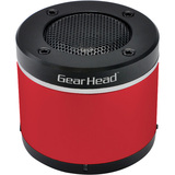 Gear Head BT3000RED Speaker System - Wireless Speaker(s) - Red - BT3000RED