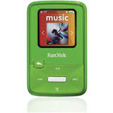 SanDisk Sansa Clip Zip 4 GB Flash MP3 Player - Lime