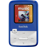 SanDisk Sansa Clip Zip 4 GB Flash MP3 Player - Teal