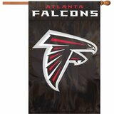 Party Animal Falcons Applique Banner Flag - AFAT
