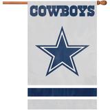 Party Animal Cowboys Applique Banner Flag