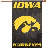 Party Animal Iowa Applique Banner Flag - AFIA