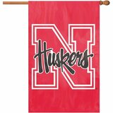 Party Animal Nebraska Applique Banner Flag