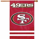 Party Animal Forty-Niners Applique Banner Flag - AFSF