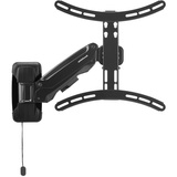 Atdec Telehook TH-3060-UFH Telehook Full Motion Arm Wall Display Mount with Gas Spring Assisted Height Adjustment - Supports to 55 lbs. - Supports Universal Mounting Hole Patterns: 200mm to 400mm High and 200mm to 200mm Wide - Auto Locking Mechanism Ho