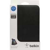 "Belkin Bi-Fold Carrying Case (Folio) for 7"" Tablet PC - Black - F8M386TTC00"