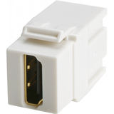 Wirewerks Keywerks HDMI Female-Female Coupler, White KW-CZZHDFWH
