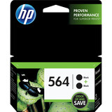 HP 564 Twin-pack Ink Cartridge - Black C2P51FN#140