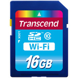 Transcend 16 GB Secure Digital High Capacity (SDHC) - 1 Card - TS16GWSDHC10