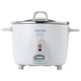 Aroma Simply Stainless 20-Cup Rice Cooker ARC-750SG