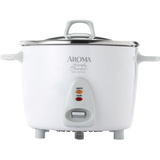 Aroma Simply Stainless 14-Cup Rice Cooker - ARC757SG