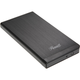 Rosewill RX25-AT-SC-BLK Drive Enclosure - External - Black - RX25ATSCBLK