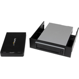 "StarTech.com Removable 2.5"" SATA Hard Drive Enclosure and Backup System for 3.5/5.25"" Bay SAT2510U3REM"