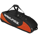 Rawlings Carrying Case for Baseball Bat - Black, Orange - PPWBBO