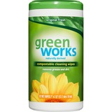 Green Works Compostable Cleaning Wipe 01155
