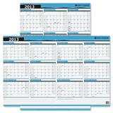 Day-Timer Write-on Wipe-off Reversible Wall Calendar 03744-13
