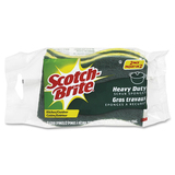Scotch-Brite Heavy-Dty Green Fiber Scrub Sponge