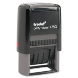 Trodat Printy 4750 Self-Inking Custom Text Dater 62749