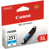 Canon CLI-251XL Ink Cartridge - Cyan - 6449B001