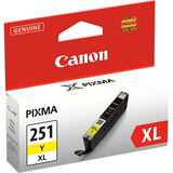 Canon CLI-251XLY Ink Cartridge - Yellow - 6451B001