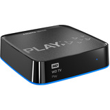 WD WD TV Play Network Audio/Video Player - Wi-Fi WDBMBA0000NBK -VESN